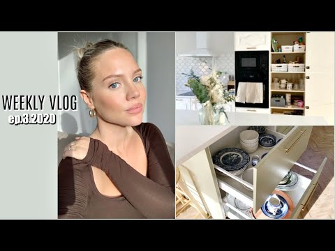 ORGANISING MY KITCHEN | Greasy Hair Hack | Elanna Pecherle 2020