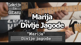 Marija - Divlje jagode - lesson cover