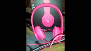Sound of the matte pink beats