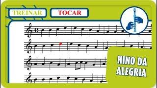 8 - Hino da Alegria | Tocar | Vamos Tocar... Flauta de Bisel