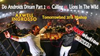 Axwell^Ingrosso - Do Androids Dream Part 2 vs. Calling vs. Lions In The Wild (Radio Edit Remake)