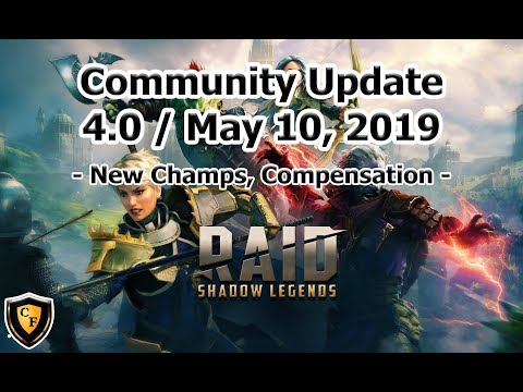 RAID: SL - Community Update 4.0 - New Champs?! + Player Compensation