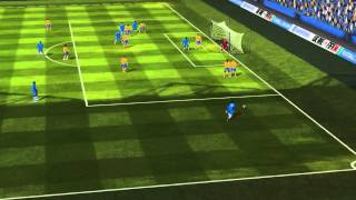 FIFA 14 iPhone/iPad - Razz FC vs. Juventus