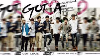GOT7 A (`collapsedone` Remix) Instrumental
