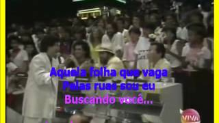 VIDEO KARAOKE GILLIARD AQUELA NUVEM