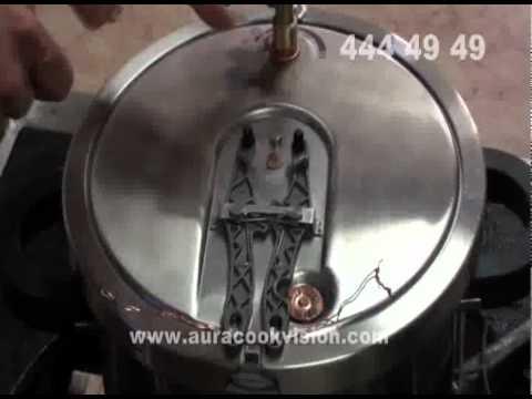 3.53 sn Aura cookvision Düdüklü tencere patlama testi.
