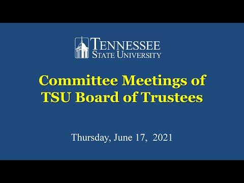 BOT Committee meetings 06172021