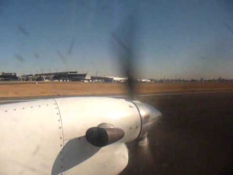 Taking Off from OR Tambo on Federal Air