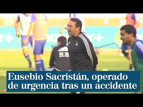 Eusebio Sacristán, operado de urgencia tras sufrir un golpe en la cabeza