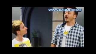 КАЛИМЕРО: Даниел Кајмакоски пее српска кафанска песна