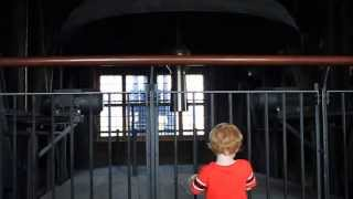 Toddler Spooked By The Bells of Cologne Cathedral
