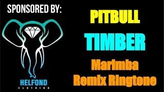 Pitbull - Timber Marimba Remix Ringtone and Alert