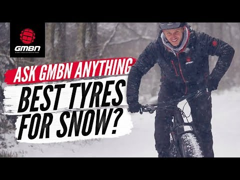 """The Best MTB Tyres For Riding In Snow"""" 