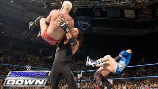 The Undertaker & Kane vs. Mr. Kennedy & MVP: SmackDown, November 3, 2006 width=