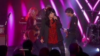 HEART Live on Kimmel (Crazy On You)   January 5 2015