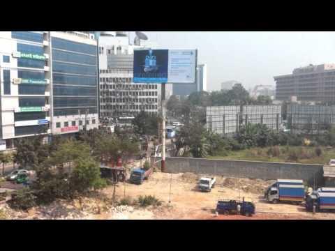 Dhaka traffic vs. call to prayer
