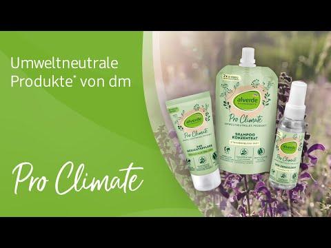 Pro Climate: Umweltneutrale Produkte* von dm