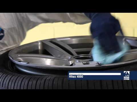 Damaged Wheel rim repair. Chrome Effect – Car Repair System
