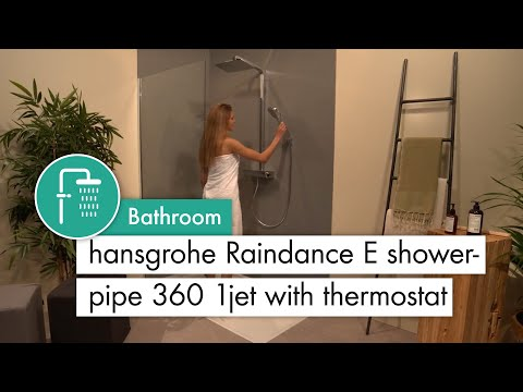 hansgrohe Raindance E Showerpipe 360 1jet with thermostat #27112000