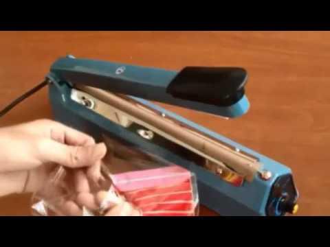 Poşet Ağzı Kapatma Makinesi / Naylon kapama makinası