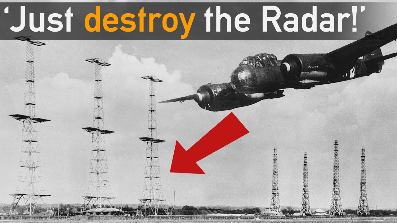 Big Mistake? Why Not Destroy Radar during Battle of Britain?!