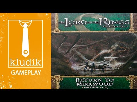 Reseña The Lord of the Rings: The Card Game - Return to Mirkwood