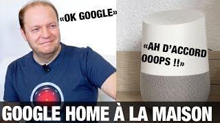 Vidéo-Test : Google Home en français : test de l'assistant intelligent