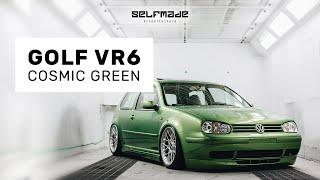 O monstrinho saiu da jaula - Golf VR6 Cosmic Green | Selfmade Streetculture