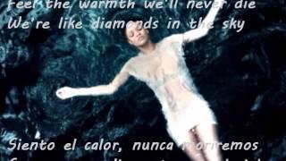 Diamonds - Rihanna (letra en inglés y español)