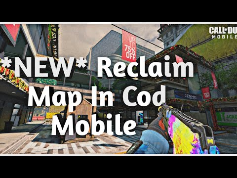 NEW   Reclaim  Map In Call Of Duty Mobile  (Cranked Gameplay)
