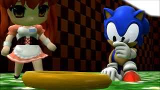 SFM Sonic Cross Haruhi Video tests