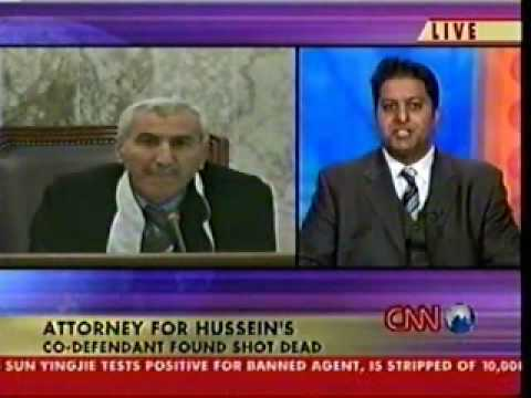 Rahul Manchanda on CNN (Trial of Saddam Hussein) - Part 2