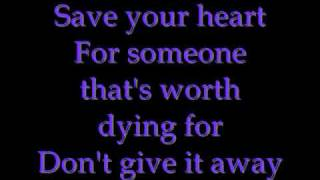 Mayday Parade-Save Your Heart (with lyrics on screen)