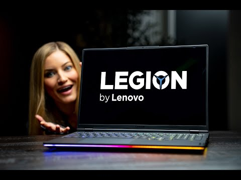 This Screen is INCREDIBLE - Lenovo Legion 7 Gaming Laptop
