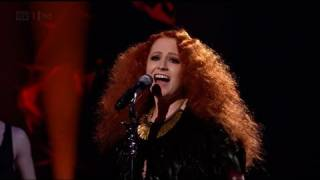Janet Devlin shoots for Guns N' Roses - The X Factor 2011 Live Show 3 - itv.com/xfactor