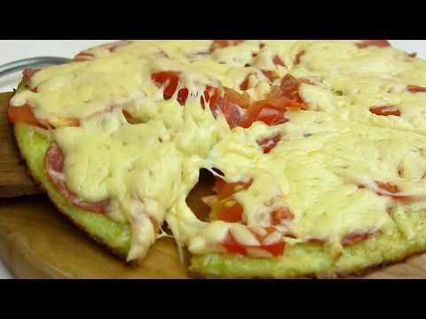 Пицца НА СКОВОРОДЕ за 10 минут!Пицца из кабачков!