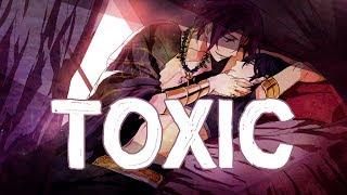 Nightcore - Toxic [male] +lyrics