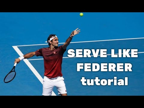 Tennis Tips - How to hit a Serve like Roger Federer - by Mario Llano from ritennisacademy.com