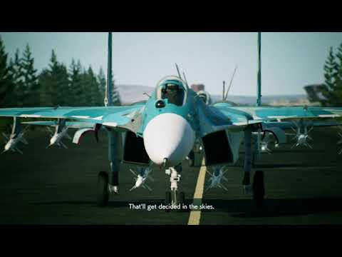 ACE COMBAT™7  SKIES UNKNOWN Mission 5 444 8k TV Nvidia RTX Alienware m17