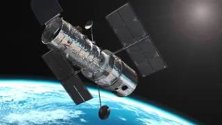 Hubble Space Telescope (music by Sweet PAD)