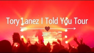 Tory Lanez I Told You Tour Manchester