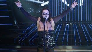 Tu Cara Me Suena - Florentino Fernández imita a Marilyn Manson