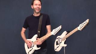 Paul Gilbert on his Ibanez PGMM31 Signature Guitar width=