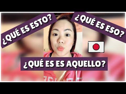 APRENDE A PREGUNTAR: ¿QUÉ ES ESTO/ESO/AQUELLO? EN JAPONÉS