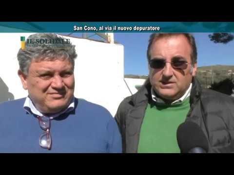 Video: San Cono, al via il nuovo depuratore