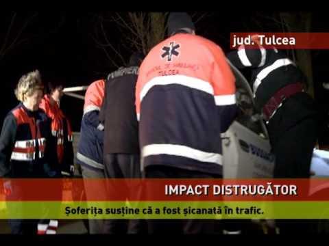 Accident grav, în Tulcea