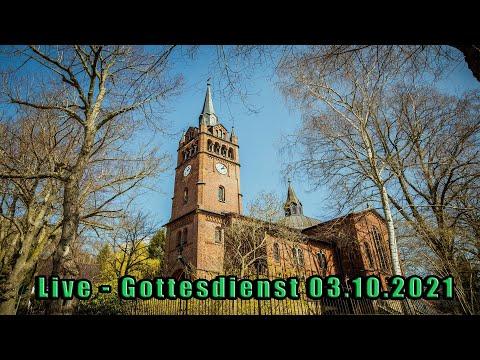 Live - Einführungsgottesdienst 14.00 Uhr am 03.10.2021