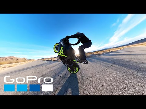 GoPro Awards: Motorcycle Wheelie Acrobatics in 4K