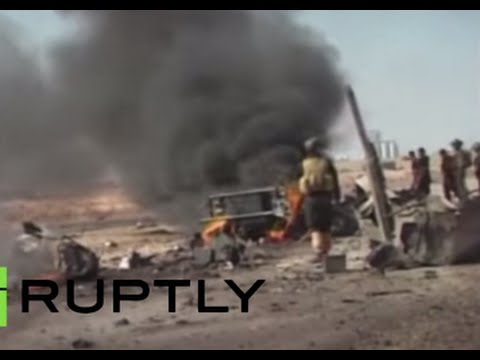 RAW: 60 Iraqi soldiers killed in alleged ISIS attack