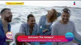 Kabah estrena canción a pesar del accidente en filmación   Sale el Sol